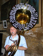 Ben Jaffe on Tuba of the Preservation Hall Jazz Band