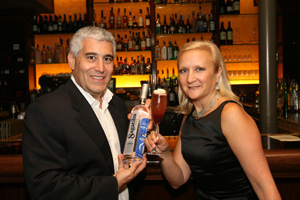 Edward and Debra with the Dona Flor Cocktail by Luxury Experience