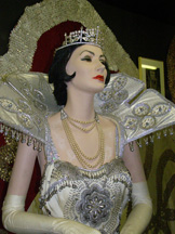 Mardi Gras Costume from Arnaud's, New Orleans