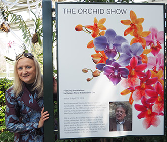 New York Botanical Garden - Orchid Show 2018 - Debra C. Argen - photo by Luxury Experience