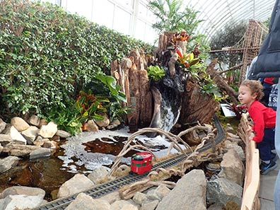 New York Botanical Garden Train Show 2018 - photo by Luxury Experience