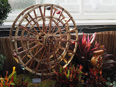 Coney Island Ferris Wheel - New York Botanical Garden Train Show 2018 - photo by Luxury Experience