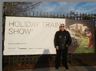 New York Botanical Garden - The Holiday Train Show - photo by Luxury Experience