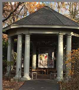 Garden Gazebo -New York Botanical Garden - The Holiday Train Show - photo by Luxury Experience