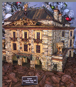 Kykuit - New York Botanical Garden - The Holiday Train Show - photo by Luxury Experience
