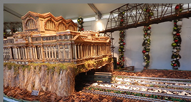 Pennsylvania Station - New York Botanical Garden - The Holiday Train Show - photo by Luxury Experience