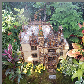 William K. Vanderbilt mantions - New York Botanical Garden - The Holiday Train Show - photo by Luxury Experience