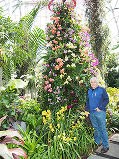 Edward F Nesta - New York Botanical Garden - Orchid Show 2019 - Photo by Luxury Experience
