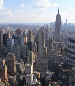 New York viewed from The Top of The Rock -  photo by Luxury Experience