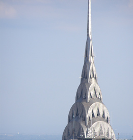 Chrysler Building photo from The Top of The Rock-  photo by Luxury Experience
