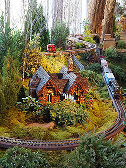 New York Botanical Gardens - The Holiday Train Show 2019
