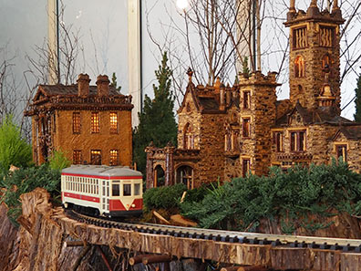 Central Park -  New York Botanical Gardens The Holiday Trains Show 2019