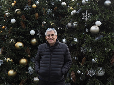Edward F. Nesta at  New York Botanical Gardens The Holiday Trains Show 2019