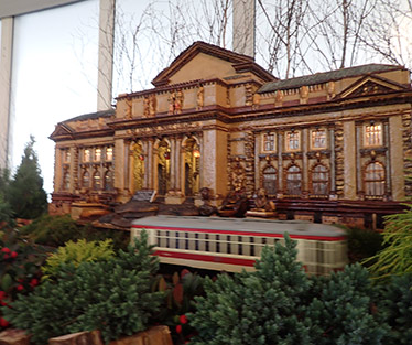 NY Public LIbrary -  New York Botanical Gardens The Holiday Trains Show 2019