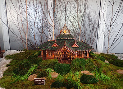 Tuxedo Station 1885 -  New York Botanical Gardens The Holiday Trains Show 2019
