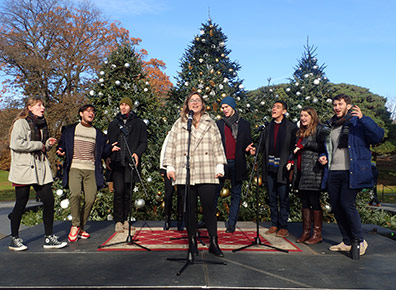 Uptown Vocals -  New York Botanical Gardens The Holiday Trains Show 2019