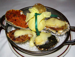 Oysters Arnaud at Arnaud's - New Orleans, LA - Photo by Luxury Experience
