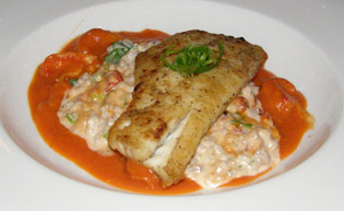 Caramel Onion Redfish - Cafe Adelaide - New Orleans, LA - Photo by Luxury Experience