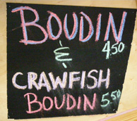 Boudin and Crawfish - French Market Farmer's Market - New Orleans, LA - Photo by Luxury Experience