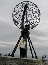 Ed at the Nordkapp