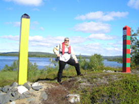 Ed  between the Norwegian and Russian Border