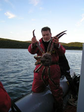Lars Petter and King Crab