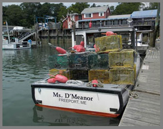 Lobster Boat, Freeport, Maine- photo by Luxury Experience