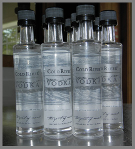 Maine Distilleries, LLC - Cold River Vodka- photo by Luxury Experience