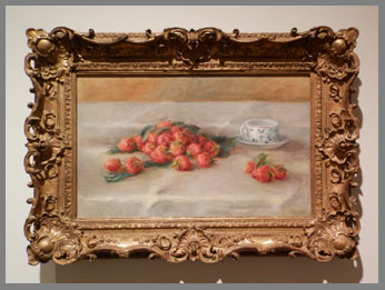 Renoir's Strawberries  - photo by Luxury Experience