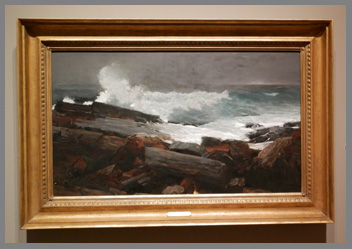 Winslow Homer's Weatherbeaten  - photo by Luxury Experience