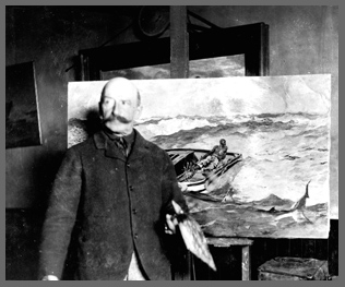 Winslow Homer and painting Gulf Stream