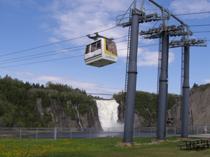 Cable Car over Montmorency Falls, Quebec, Canada - Photo by Luxury Experience