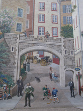 Mural of History of Quebec, Canada - Photo by Luxury Experience