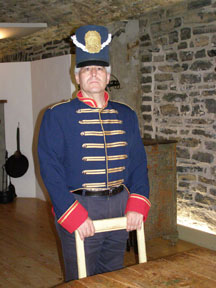 Edward in Costume at Centre d'Interpretation de Place-Royal, Quebec, Canada - Photo by Luxury Experience