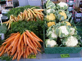 Fresh Produce at March du Vieux-Port, Quebec, Canada - Photo by Luxury Experience