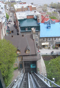 Funicular du Viewx-Quebec - View from Funicular - Photo by Luxury Experience