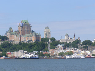 View from Quebec-Levis Ferry, Quebec, Canada - Photo by Luxury Experience