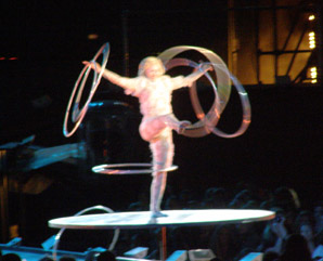 Cirque du Soleil, Quebec, Canada -Hoops Act - Photo by Luxury Experience