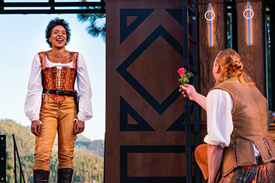 The Taming of the Shrew - Lake Tahoe Shakespeare Festival - Tahoe, Nevada