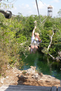 Edward Zip-Line at Maya Zip-Line