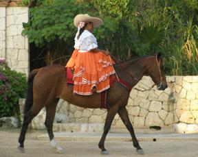 Xcaret, Riviera Maya,Mexico - Equestrian