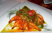 Xtabay Restaurant at Ceiba del Mar Beach & Spa Resort, Riviera Maya, Mexico - Shrimp
