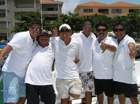 Catamaya Cruises - Riviera Maya, Mexico - The Crew