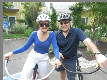 Bike Riding Old Saybrook, CT- photo by Luxury Experience