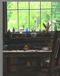 Florence Griswold Chadwick Studio Old Lyme, CT - photo by Luxury Experience
