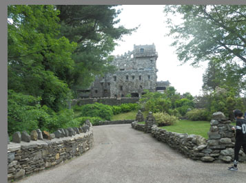 Gillette Castle Hadlynme, CT - photo by Luxury Experience