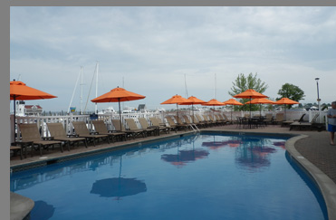 Outdoor Pool - Saybrook Point Inn & Spa - Old Saybrook, CT- photo by Luxury Experience