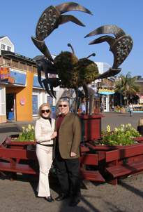Pier 39, San Francisco - Debra Argen and Edward F. Nesta