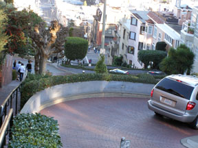 GoCar on Lombard Street, San Francisco