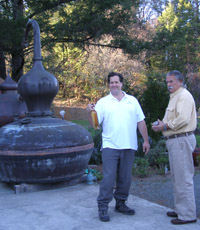 Marko and Miles Karakasevic of CHARBAY Winery & Distillery